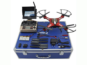 Drone with Carrying Case