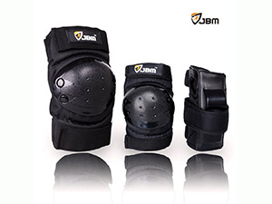 JBM gear for kids, inline knee elbow wrist support