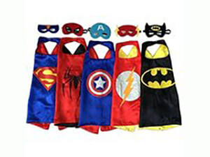 Lylan Superhero Costumes For Kids Set of 5