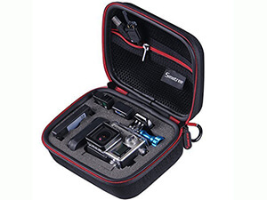 Smatree G75 Small Case for Gopro Hero and Accessories (Black)