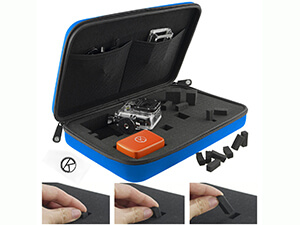 CamKix Carrying Case with Fully Customizable Interior for Gopro Hero 4