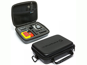 PRORIES Carrying Case for GoPro Hero 4, Black, Silver, Hero+ LCD, 3+, 3, 2 and Accessories