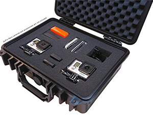 IBEX Black Watertight Hard Rugged Case