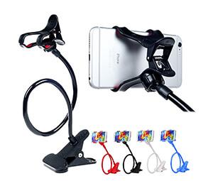 ITART Plastic Flexible Long Arms Universal Cell Phone Holder