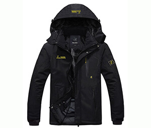 Wantdo Men's Waterproof