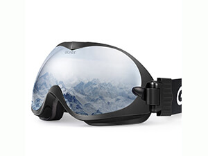 Gonex Professional Ski Goggles OTG Anti-fog Windproof Snow Snowboard Goggles