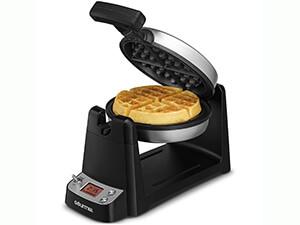 Gourmet GWM440 Stainless Steel Digital Belgian Waffle Maker
