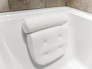 Harrison House Luxurious Bath Pillow with Konjac Bath Sponge