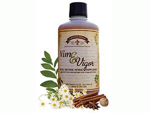 Vim & Vigor Herb Infused Apple Cider Vinegar Tonic Supplement