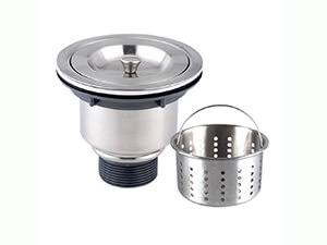 Sink Strainer,3-1/2-inch Kitchen Sink Strainer