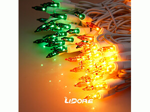 LIDORE Super Bright Clear Mini Christmas tree Lights