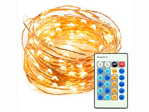33ft 100 LED String Lights