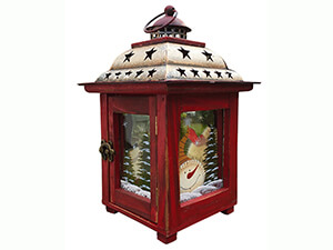 Holiday Lantern Candle Holder