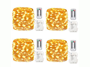 GDEALER 4 Pack Fairy Lights
