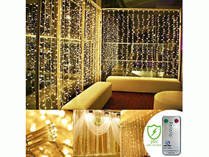 Kohree 300 Led Curtain icicle lights