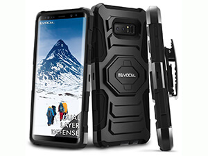 Galaxy Note 8 Case, Evocel [New Generation] Rugged Holster Dual Layer Case