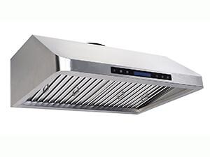 Cycene 30 Inch Professional Series Under Cabinet Stainless Steel Range Hood