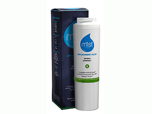 Mist Whirlpool Maytag UKF8001, 4396395, EDR4RXD1, Pur Filter 4, Kenmore 46-9005, Refrigerator Water Filter Replacement