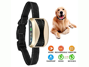 Bark Collar,USB Rechargeable Rainproof Dog Barking Control Training Collar