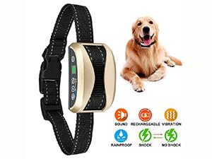 Bark Collar,USB Rechargeable Rainproof Dog Barking Control Training Collar
