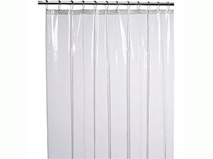 LiBa Mildew Resistant Anti-Bacterial PEVA 8G Shower Curtain Liner