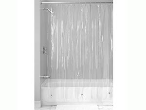 InterDesign Vinyl 4.8 Gauge Shower Curtain Liner