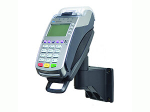 "Verifone Vx520 EMV CTLS 7"" Lockable Wall Mount Terminal Stand"