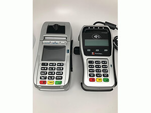 First Data FD130 EMV with Wells 350