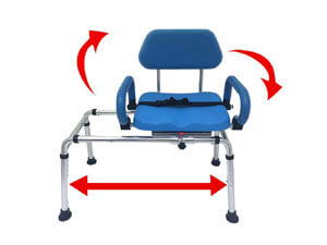 Hip Solution Bath and Shower Transfer Bench