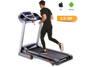 Miageek Fitness Folding Electric Jogging Treadmill