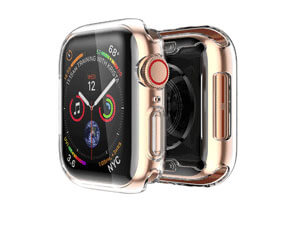 Smiling Apple Watch 4 Clear Case