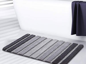 Bath Rug, Door Mat, Soft and Absorbent Bathroom Mat