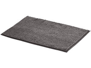 AmazonBasics Chenille Bath Mat - Small, Grey