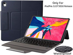 iPad Pro 12.9 Case with Keyboard 2018-3rd Gen