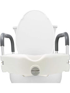 Pivot Raised Toilet Seat