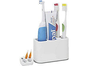 STFUSA Bathroom Toothbrush Toothpaste Holder, Electric Toothbrush Holder